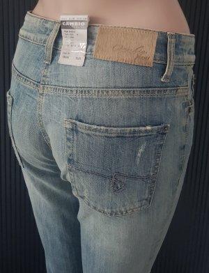 Cambio Jeansy z prostymi nogawkami jasnoniebieski