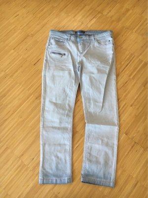 Street One Jeansy z prostymi nogawkami błękitny