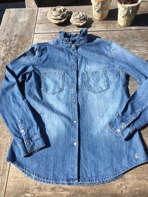 NEU Jeanshemd BLUE FIRE Gr. S 36 Denim Bluse