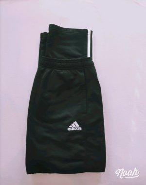 Adidas Pantalon de sport blanc-noir