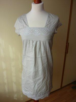 John Baner Empire Dress multicolored cotton