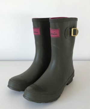 NEU Joules Gummistiefel 38 Tom Joule Wellies Khaki Wellington Boots Regenstiefel