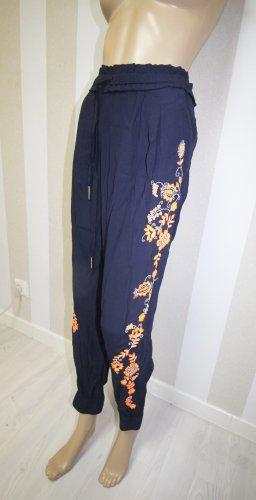 Juicy Couture Sportbroek donkerblauw-oranje