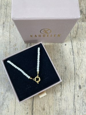 Kardelen Necklace white-gold-colored