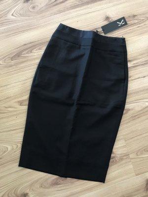 NEU Karl Lagerfeld Pencil Skirt IT38 XS 34 Bleistiftrock Schwarz Business Anzug