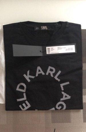 NEU Karl lagerfeld tshirt s schwarz