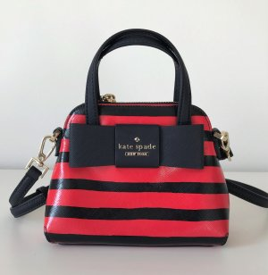 NEU Kate Spade Julia Street Mini Maise Crossbody Tasche Streifen Bag Hochzeit