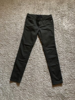 Neu! Khaki Armee Grün Leggings Jeggings Stretch Hose Von Colin's