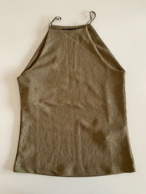 Reserved A Line Top olive green