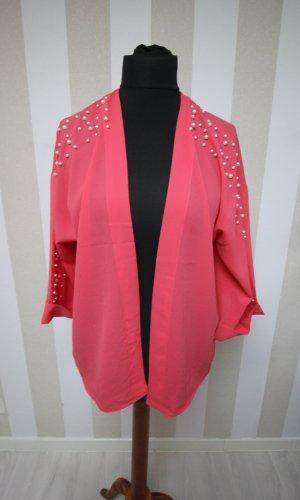 NEU Kimono Jacke mit Perlen