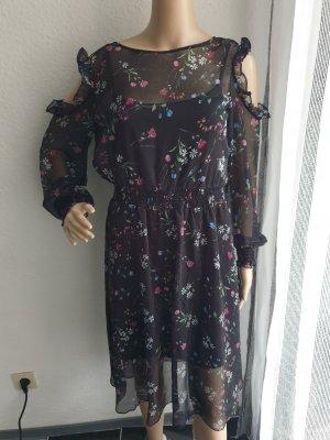 Apanage Midi-jurk zwart