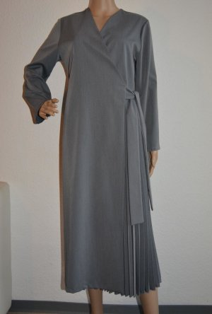 Kopertowa sukienka szary