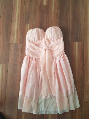 NEU kurzes Kleid, Chiffon Kleid, Minikleid schulterfrei Gr. S