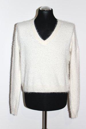 Neu kuschliger Pullover von Maui Wowie Größe M off-white