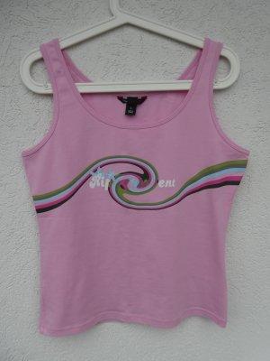 NEU – L.O.G.G. Sport by H&M – Tank-Top,  rosa mit Aufdruck