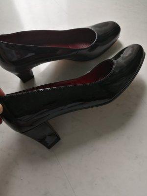 ara  nero-rosso scuro Pelle