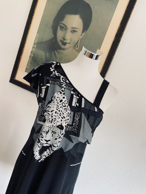 Lala Berlin Sukienka na jedno ramię Wielokolorowy