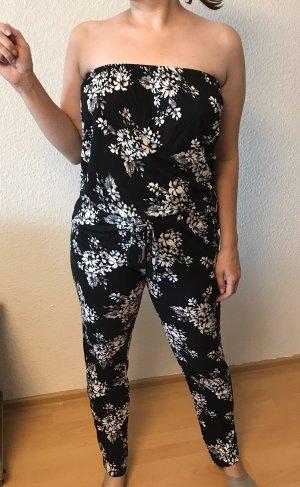 Lascana Jersey Pants black-white