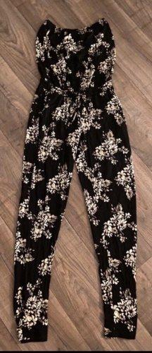 Lascana Pantalón tipo suéter negro-blanco