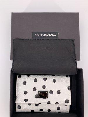 Dolce & Gabbana Wallet white-black