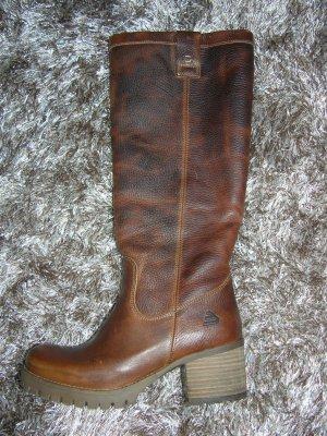 Neu! Leder Stiefel von Bullboxer in Braun, Gr. 37, LP: 130€