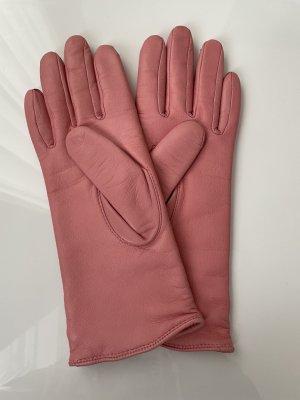 Roeckl Gants en cuir rose cuir