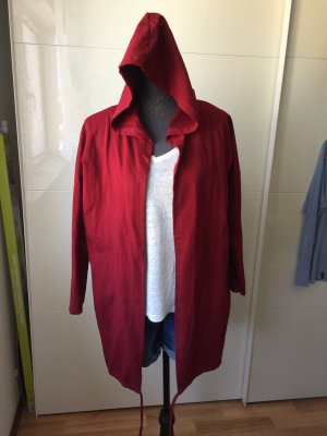 seventyseven Hooded Coat bordeaux-dark red