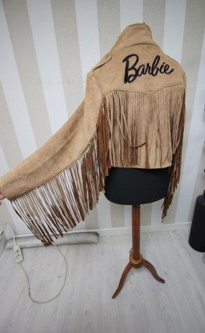 Missguided Biker Jacket sand brown-black