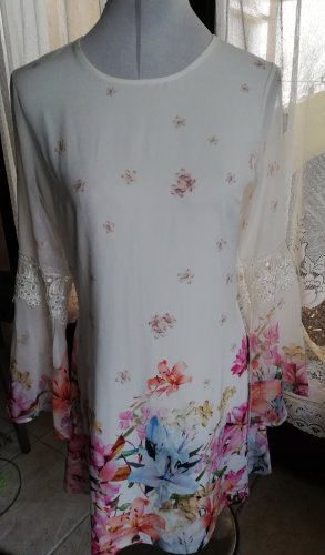Lipsy Longsleeve Dress white