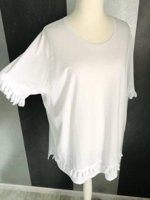 NEU • Long T-Shirt mit Quasten • Bio Baumwolle