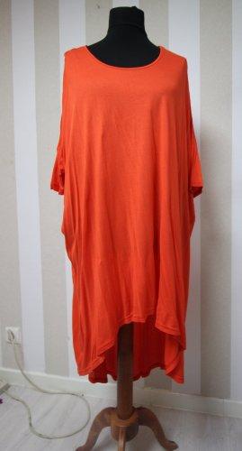 Robe tunique orange