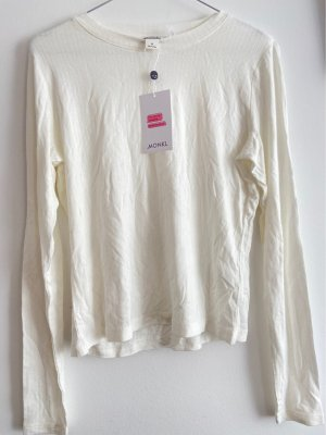 Monki Long Top white