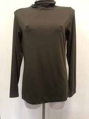 Cinque Turtleneck Shirt khaki-green grey