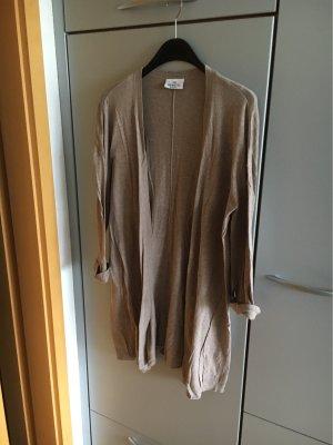 Gina Benotti Gilet long tricoté gris brun