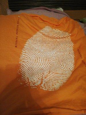 Caperuza blanco-naranja