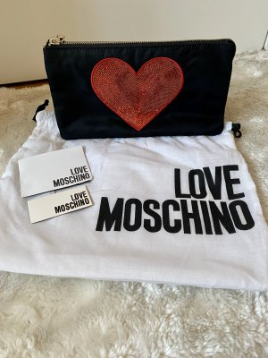NEU Love Moschino Clutch schwarz