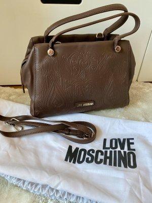 NEU Love Moschino Tasche braun
