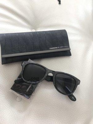 Jimmy Choo Gafas de sol cuadradas azul-azul oscuro