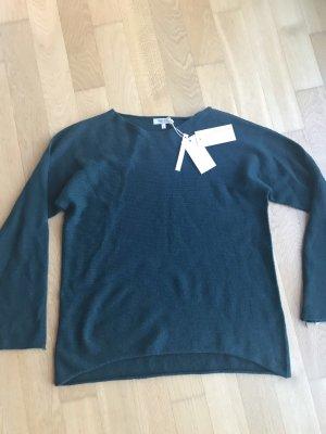 Bartolini Kraagloze sweater veelkleurig Kasjmier