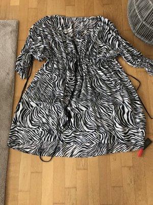 NEU Luxus Designer Alexander McQueen mcq Seide Tunika Kleid 34 36