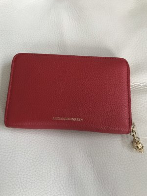NEU Luxus Designer Alexander McQueen Portemonnaie Wallet Tasche