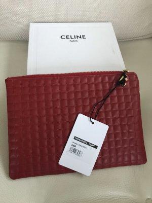 NEU Luxus Designer C cc Logo Paris Céline Quilted Celine Clutch Tasche Bag