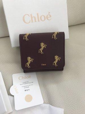 NEU Luxus Designer Chloé Chloe Portemonnaie Portmonnee Geldbeutel Geldbörse