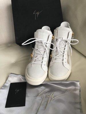 NEU Luxus Designer Giuseppe Zanotti Design Designer Sneaker Schuhe 38