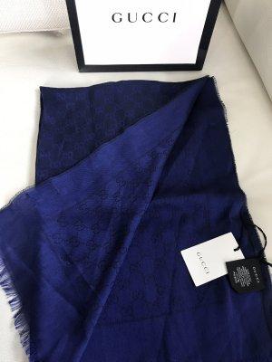 Gucci Summer Scarf blue-dark blue