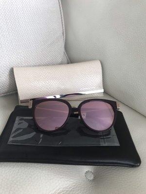 Moschino Gafas de sol ovaladas rojo zarzamora-violeta amarronado