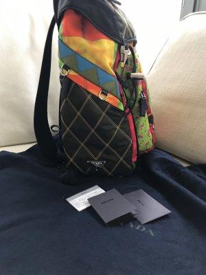 NEU Luxus Designer Prada Milano Nylon Rucksack Tasche Bag