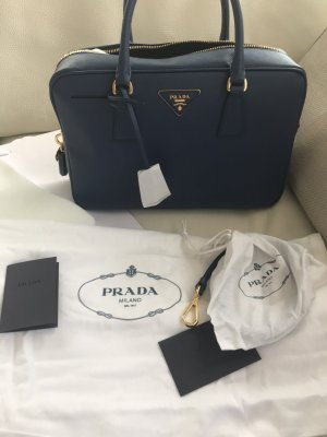 NEU Luxus Designer Prada Milano Saffiano Lux Bauletto Bag Tasche