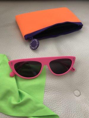 Stella McCartney Okulary retro różowy-magenta