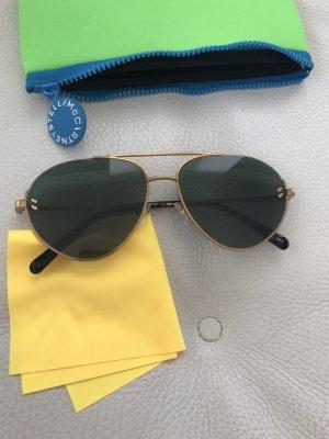 Stella McCartney Gafas de piloto color oro